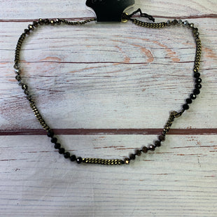 Primary Photo - BRAND:    CHLOE AND ISOBELSTYLE: NECKLACE COLOR: BLACK OTHER INFO: CHLOE AND ISOBEL - BLACK CLEAR GEMS SKU: 257-25797-1098