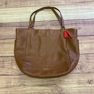 Primary Photo - BRAND: COACH STYLE: HANDBAG DESIGNER COLOR: BROWN SIZE: MEDIUM SKU: 257-25758-1236