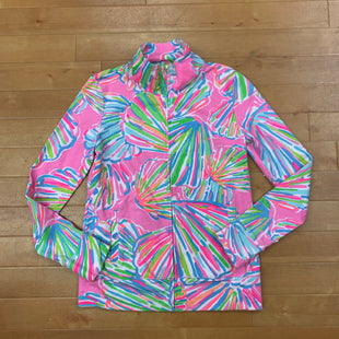 Athletic Jacket By Lilly Pulitzer  Size: S - BRAND: LILLY PULITZER STYLE: ATHLETIC JACKET COLOR: PRINT SIZE: S OTHER INFO: NEON ZIP UP SKU: 257-257183-2158