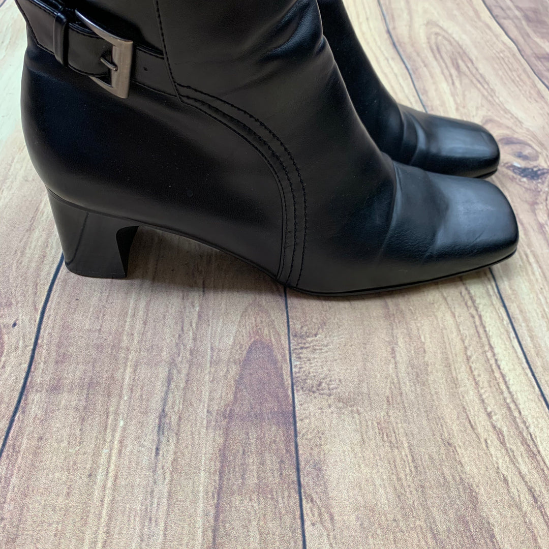 Boots Ankle By Predictions  Size: 11 - BRAND: PREDICTIONS <BR>STYLE: BOOTS ANKLE <BR>COLOR: BLACK <BR>SIZE: 11 <BR>SKU: 257-257100-464
