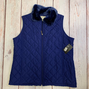 Vest Down By Debbie Morgan  Size: Xl - BRAND: DEBBIE MORGAN STYLE: VEST DOWN COLOR: BLUE SIZE: XL OTHER INFO: NWT SKU: 257-257194-360
