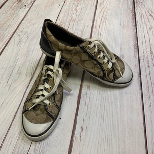 Shoes Athletic By Coach  Size: 8 - BRAND: COACH STYLE: SHOES ATHLETIC COLOR: BROWN SIZE: 8 SKU: 257-25748-4222