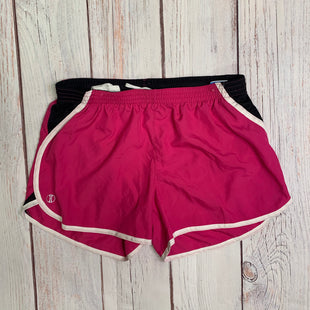 Athletic Shorts By Halloway  Size: L - BRAND:    HOLLOWAYSTYLE: ATHLETIC SHORTS COLOR: PINK SIZE: L OTHER INFO: HOLLOWAY - SKU: 257-257189-375