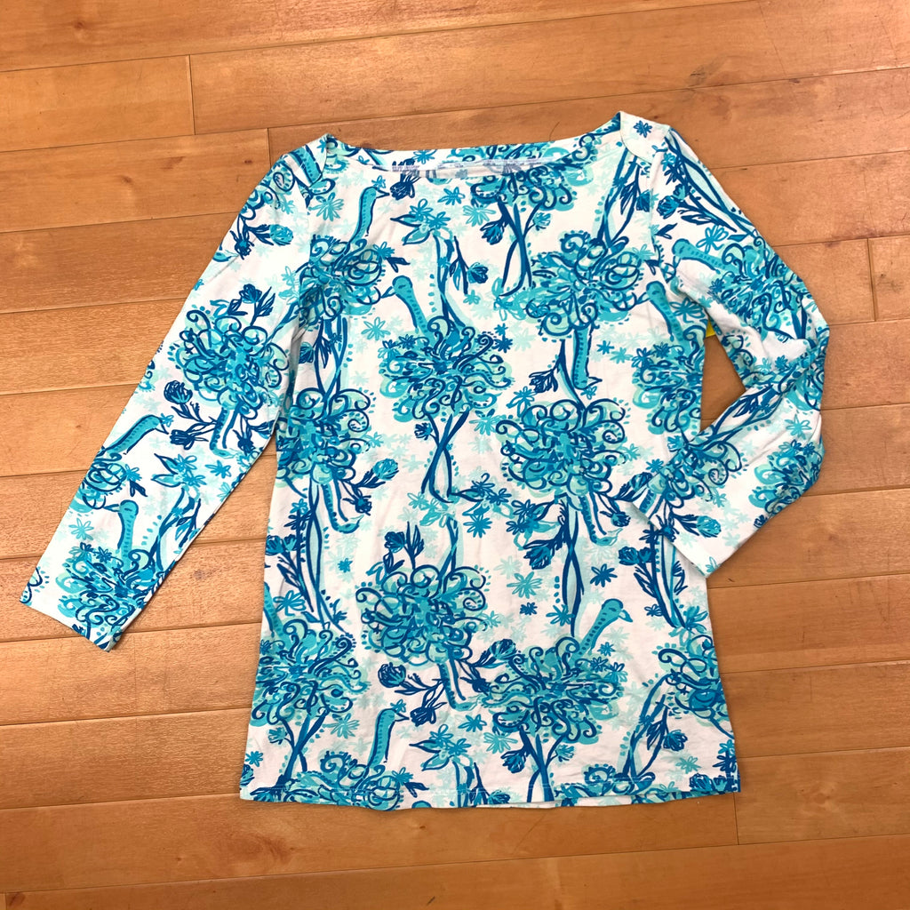 Dress Short Long Sleeve By Lilly Pulitzer  Size: S