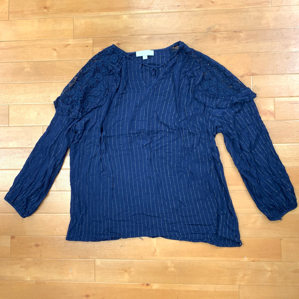 Top Long Sleeve By Suzanne Betro  Size: 2x