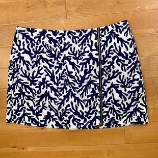 Skort By Lilly Pulitzer  Size: 4 - BRAND: LILLY PULITZER STYLE: SKORT COLOR: BLUE WHITE SIZE: 4 OTHER INFO: NAVY SKU: 217-217104-30211