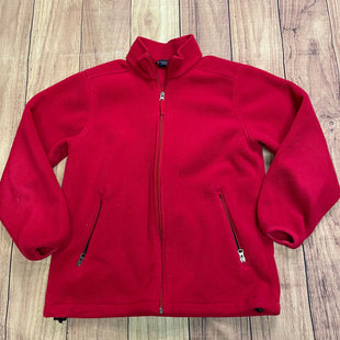 Jacket Outdoor By Lands End  Size: S - BRAND: LANDS END STYLE: JACKET OUTDOOR COLOR: RED SIZE: S SKU: 257-257101-71