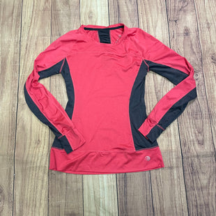 Athletic Top By Mpg  Size: S - BRAND: MPG STYLE: ATHLETIC TOP COLOR: PINK SIZE: S OTHER INFO: GREY TRIMS SKU: 257-25786-5687