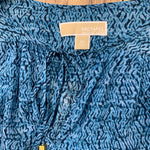 Top Long Sleeve By Michael By Michael Kors  Size: Xs - BRAND: MICHAEL BY MICHAEL KORS <BR>STYLE: TOP LONG SLEEVE <BR>COLOR: BLUE <BR>SIZE: XS <BR>SKU: 257-257100-838