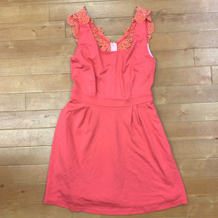 Dress Short Sleevele By Lilly Pulitzer  Size: S - BRAND: LILLY PULITZER STYLE: DRESS SHORT SLEEVELE COLOR: SALMON SIZE: S SKU: 217-217104-23402