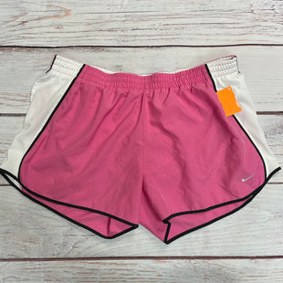 Athletic Shorts By Nike  Size: Xl - BRAND: NIKE STYLE: ATHLETIC SHORTS COLOR: PINK SIZE: XL SKU: 257-25758-447