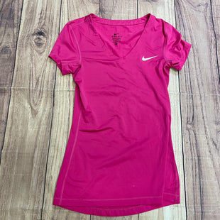 Athletic Top By Nike  Size: Xs - BRAND: NIKE STYLE: ATHLETIC TOP COLOR: PINK SIZE: XS SKU: 257-257194-163