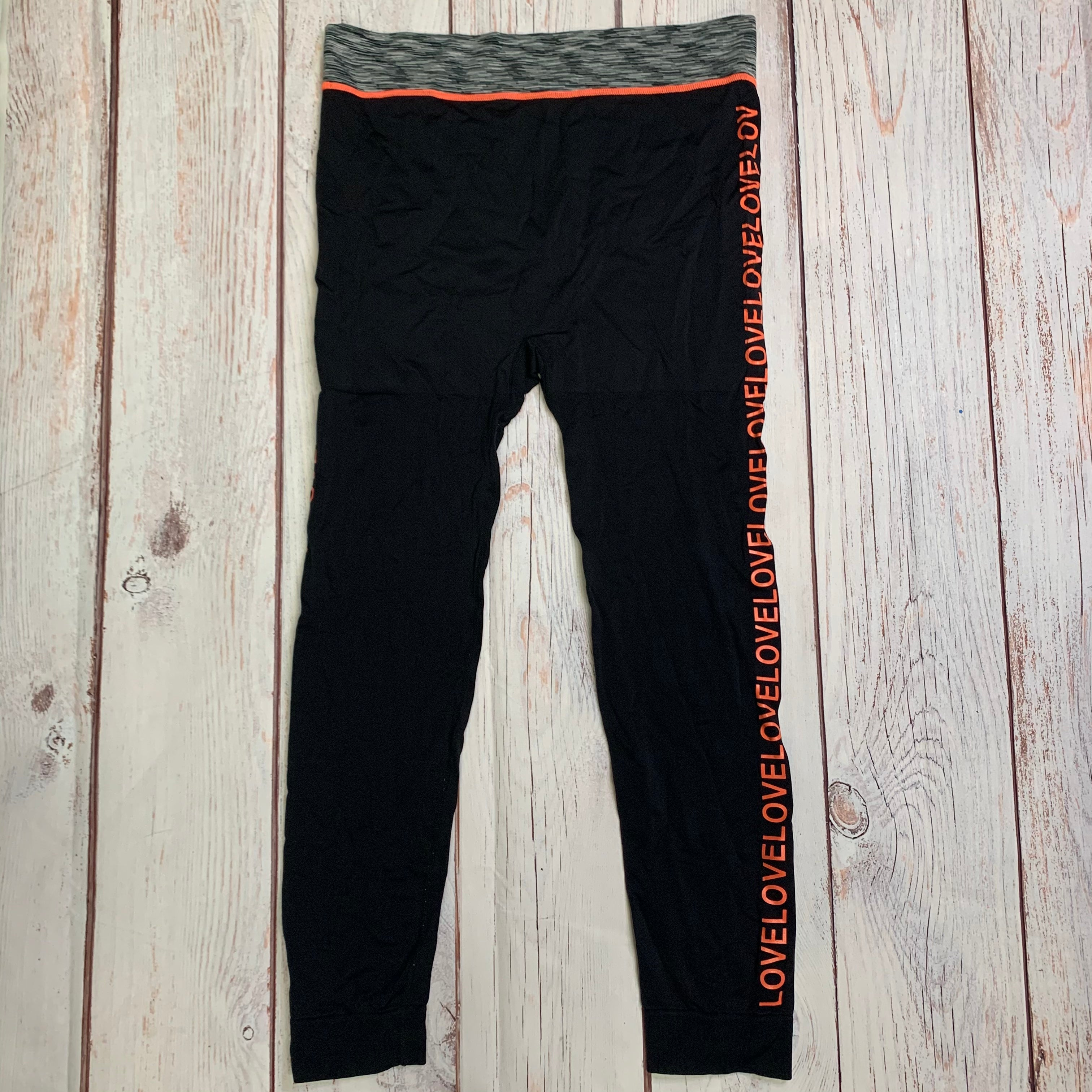 Athletic Pants By Soho Lady  Size: Plus - BRAND:    SOHO LADY<BR>STYLE: ATHLETIC PANTS <BR>COLOR: BLACK <BR>SIZE: PLUS <BR>OTHER INFO: SOHO LADY - OS <BR>SKU: 257-25758-660