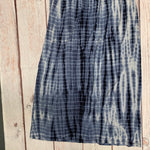 Skirt By Loft  Size: Petite  Medium - BRAND: LOFT <BR>STYLE: SKIRT <BR>COLOR: TIE DYE <BR>SIZE: PETITE  MEDIUM <BR>OTHER INFO: BLUE/WHITE <BR>SKU: 257-25748-7409