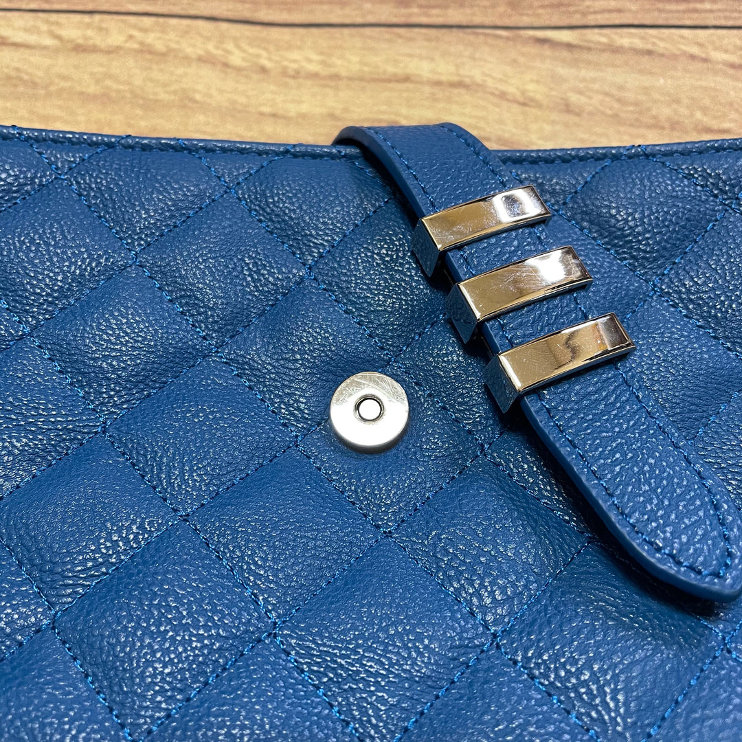 Photo #5 - BRAND: STEVE MADDEN <BR>STYLE: HANDBAG <BR>COLOR: BLUE <BR>SIZE: MEDIUM <BR>SKU: 257-25748-6468