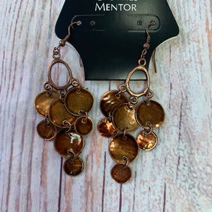 Primary Photo - BRAND:  CME STYLE: EARRINGS COLOR: BROWN OTHER INFO: BROWN LIGHT BROWN  - WITH LIGHTBROWN HANGING SKU: 257-257198-197