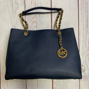 Primary Photo - BRAND: MICHAEL BY MICHAEL KORS STYLE: HANDBAG DESIGNER COLOR: NAVY SIZE: LARGE SKU: 257-257194-359