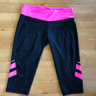 Primary Photo - BRAND: FILA STYLE: ATHLETIC CAPRIS COLOR: PINKBLACK SIZE: L SKU: 257-25773-25828