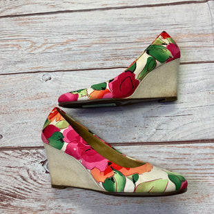 Primary Photo - BRAND: AEROSOLES STYLE: SHOES HIGH HEEL COLOR: FLORAL SIZE: 7.5 SKU: 257-25750-986