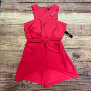 Primary Photo - BRAND: NEW YORK AND CO STYLE: DRESS SHORT SLEEVELESS COLOR: PINK SIZE: M OTHER INFO: ROMPER; NWT SKU: 257-257194-2080
