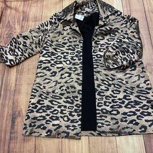Primary Photo - BRAND: CHICOS STYLE: BLAZER JACKET COLOR: ANIMAL PRINT SIZE: S OTHER INFO: NEW SKU: 257-257153-384
