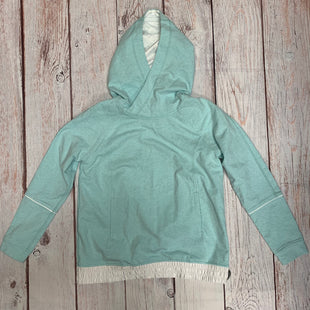 Primary Photo - BRAND: LULULEMON STYLE: ATHLETIC JACKET COLOR: TEAL SIZE: M OTHER INFO: WHITE BAND AT BOTTOM SKU: 257-25750-514