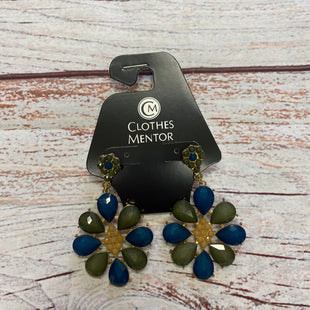 Primary Photo - BRAND:    CLOTHES MENTOR STYLE: EARRINGS COLOR: BLUE GREEN OTHER INFO: EARRINGS - SKU: 257-25758-1222