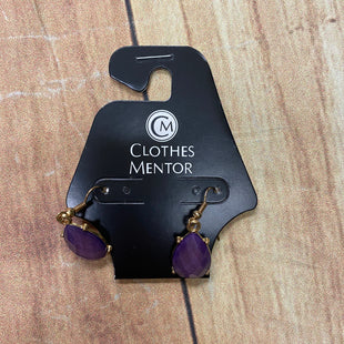 Primary Photo - BRAND:  CMF STYLE: EARRINGS COLOR: PURPLE OTHER INFO: GOLD ACCENTS SKU: 257-257103-1459