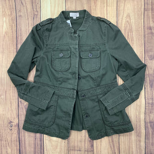 Primary Photo - BRAND: ANN TAYLOR LOFT STYLE: JACKET OUTDOOR COLOR: OLIVE SIZE: S SKU: 257-25786-5589