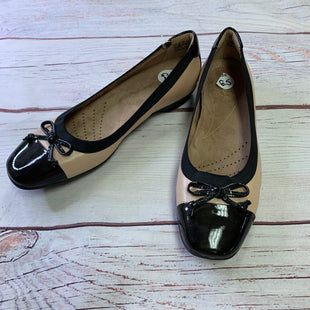 Primary Photo - BRAND: CLARKS STYLE: SHOES FLATS COLOR: PINKBLACK SIZE: 6.5 OTHER INFO: BOW ON FRONT SKU: 257-25797-1143