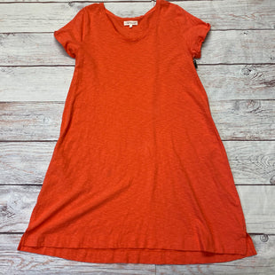 Primary Photo - BRAND: LOU AND GREY BY LOFT STYLE: DRESS SHORT SHORT SLEEVE COLOR: ORANGE SIZE: L SKU: 257-25748-7467