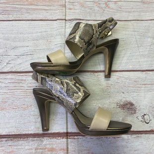 Primary Photo - BRAND: ANNE KLEIN STYLE: SHOES HIGH HEEL COLOR: SNAKESKIN PRINT SIZE: 7 SKU: 257-25758-1246