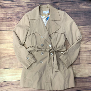 Primary Photo - BRAND: CALVIN KLEIN STYLE: COAT SHORT COLOR: TAN SIZE: M SKU: 257-25748-5449