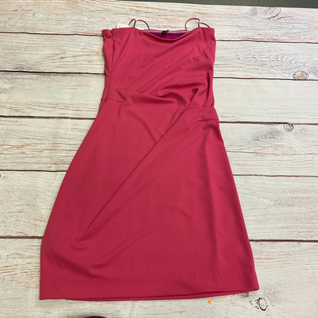 Photo #2 - BRAND: NICOLE MILLER <BR>STYLE: DRESS SHORT SLEEVELESS <BR>COLOR: PINK <BR>SIZE: M <BR>OTHER INFO: NWT <BR>SKU: 257-257194-434