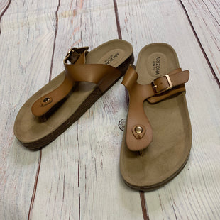 Primary Photo - BRAND: ARIZONA STYLE: SANDALS FLAT COLOR: BROWN SIZE: 10 SKU: 257-257194-1169