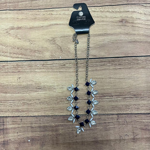 Primary Photo - BRAND: CHARMING CHARLIE STYLE: NECKLACE COLOR: WHITE BLUE OTHER INFO: SILVER/CRYSTAL/WHITE/BLUE SKU: 257-25748-6250