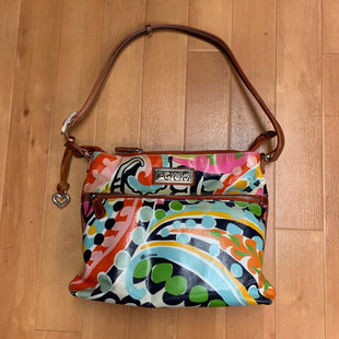 Primary Photo - BRAND: BRIGHTON STYLE: HANDBAG DESIGNER COLOR: MULTI SIZE: MEDIUM OTHER INFO: STAINING ON FRONT SKU: 257-25748-3462