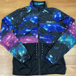 Primary Photo - BRAND: FILA STYLE: ATHLETIC JACKET COLOR: MULTI SIZE: XS OTHER INFO: BLACK/TEAL/BLUE/PURPLE SKU: 257-25774-15614