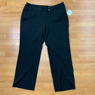 Primary Photo - BRAND: RAFAELLA STYLE: PANTS COLOR: BLACK SIZE: 18 OTHER INFO: PANTS  NWT SKU: 257-257194-29