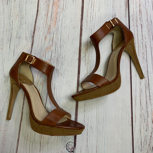 Primary Photo - BRAND: VINCE CAMUTO STYLE: SHOES HIGH HEEL COLOR: BROWN SIZE: 10 SKU: 257-257194-419