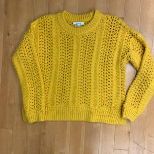 Primary Photo - BRAND: MADEWELL STYLE: SWEATER LIGHTWEIGHT COLOR: MUSTARD SIZE: S SKU: 257-257184-482