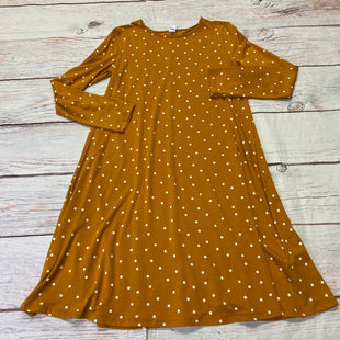 Primary Photo - BRAND: OLD NAVY STYLE: DRESS SHORT LONG SLEEVE COLOR: YELLOW SIZE: XS OTHER INFO: NEW! POLKA DOTS SKU: 257-257100-1947