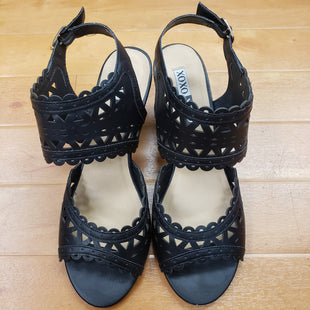 Primary Photo - BRAND: XOXO STYLE: SANDALS LOW COLOR: BLACK SIZE: 9.5 SKU: 257-25774-13657