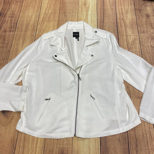 Primary Photo - BRAND: NIC + ZOE STYLE: BLAZER JACKET COLOR: WHITE SIZE: 1X SKU: 257-257153-184