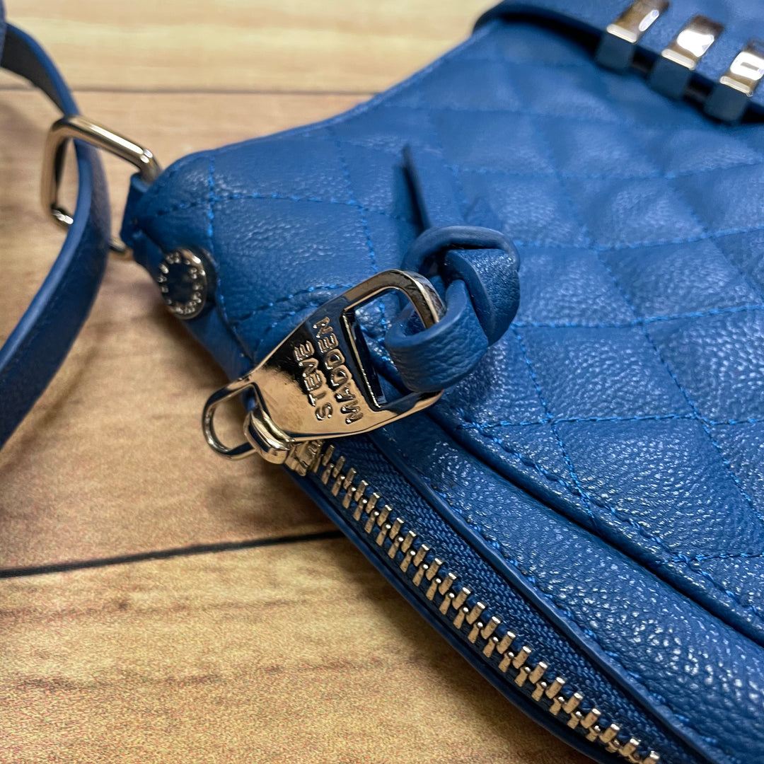 Photo #4 - BRAND: STEVE MADDEN <BR>STYLE: HANDBAG <BR>COLOR: BLUE <BR>SIZE: MEDIUM <BR>SKU: 257-25748-6468