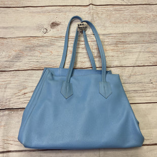 Photo #1 - BRAND: NEELY & CHLOESTYLE: HANDBAG LEATHER COLOR: BLUE SIZE: LARGE OTHER INFO: NEELY & CHLOE - SKU: 257-257194-1545
