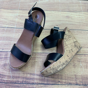 Primary Photo - BRAND: MOSSIMO STYLE: SHOES HIGH HEEL COLOR: BLACK SIZE: 10 OTHER INFO: CORK WEDGE SKU: 257-25774-12513