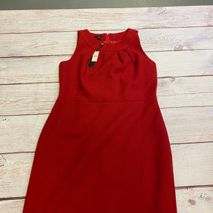 Primary Photo - BRAND: TALBOTS STYLE: DRESS SHORT SLEEVELESS COLOR: RED SIZE: L OTHER INFO: NEW! SKU: 257-25774-15085