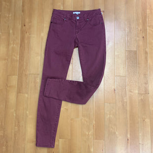 Primary Photo - BRAND: CABI STYLE: JEANS COLOR: BURGUNDY SIZE: 0 SKU: 257-25774-15183