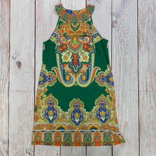Primary Photo - BRAND: INC STYLE: DRESS SHORT SLEEVELESS COLOR: PAISLEY SIZE: S OTHER INFO: GREEN AND YELLOW SKU: 257-25797-361